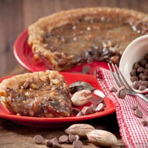 King's Chocolate Chip Pie